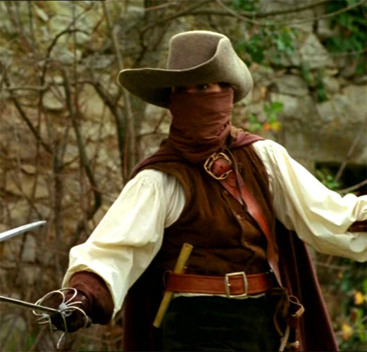 movie costumes through time in la femme musketeer at